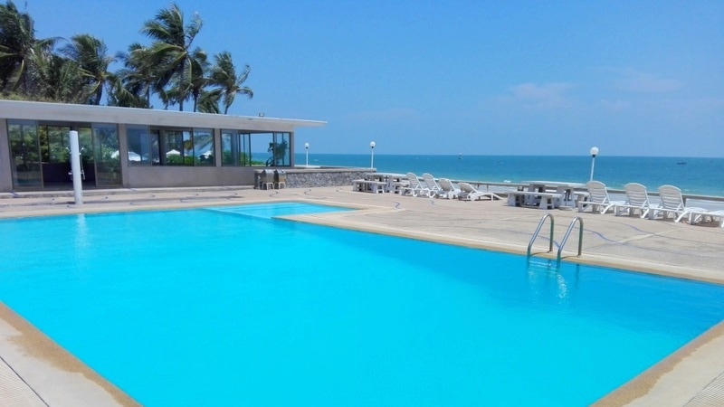 Fully Furnished Sea View Beach Front Townhouse Located in Central Hua Hin