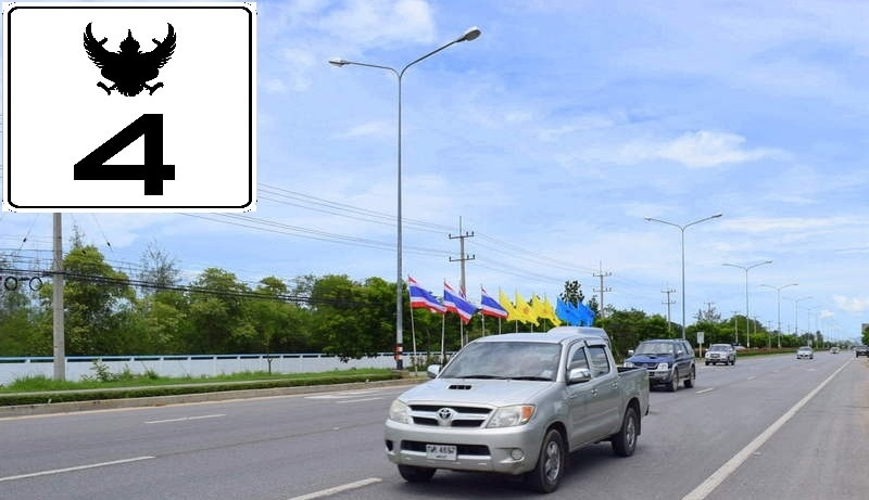 3-0-27 Rai with Main Highway Frontage Near Cha-am