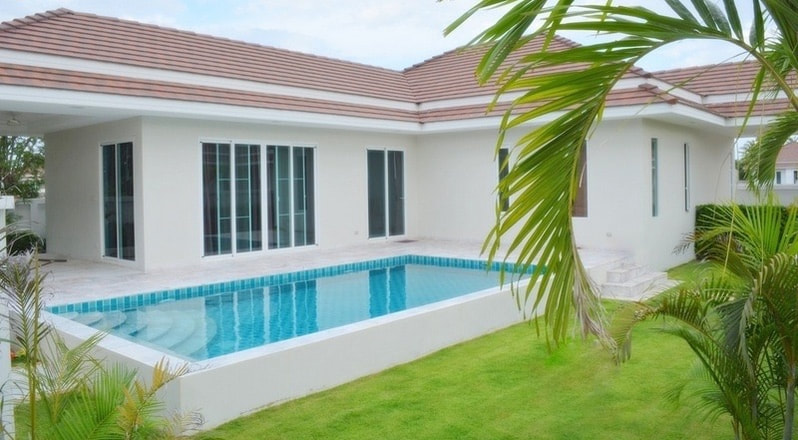 Pool Villa For Sale ​in Secure Village West of Hua Hin